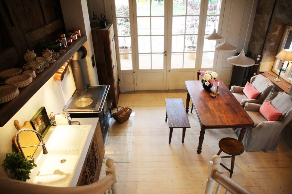 Annas Scheune Küche 12